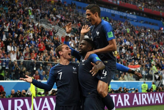 France sets records en route to WC final