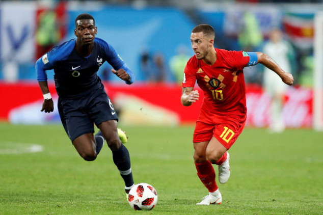 Hazard, Courtois hit out at