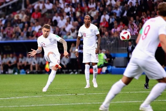 Trippier's goal sets couple of WC records for ENG