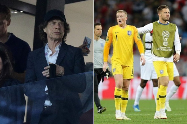 Mick Jagger, blamed for English downfall