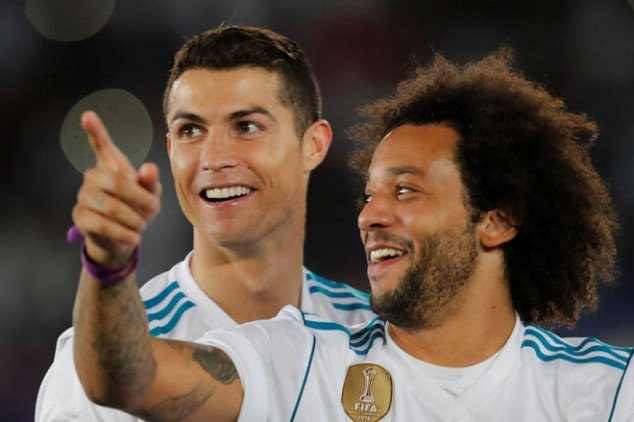 Marcelo's emotional letter to CR7