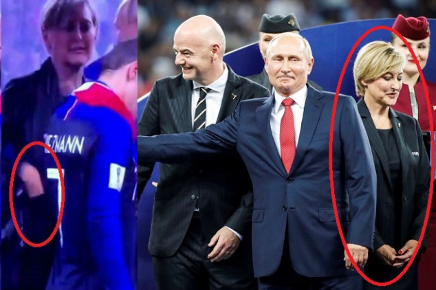 Did a FIFA exec steal a World Cup medal?