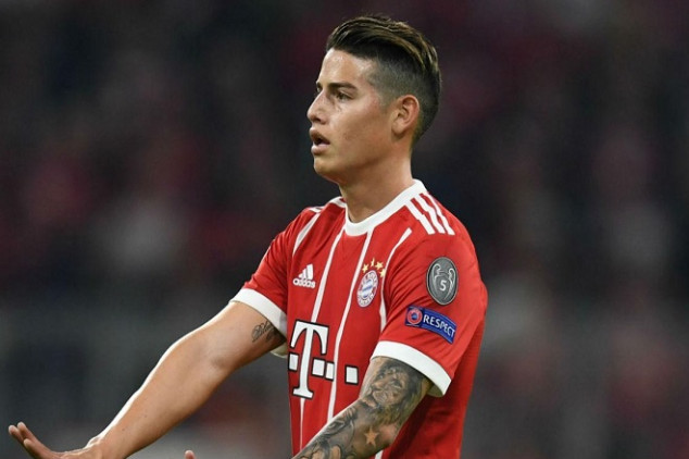 Will James leave Bayern this summer?