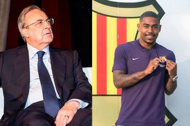 Malcom's transfer to Barca helps Real Madrid
