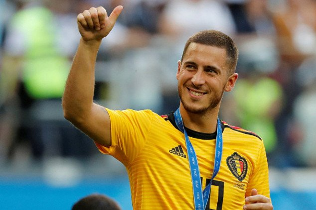 Real Madrid reportedly ends Hazard chase