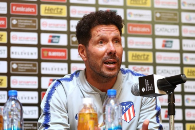 Simeone explains his leaked WhatsApp message