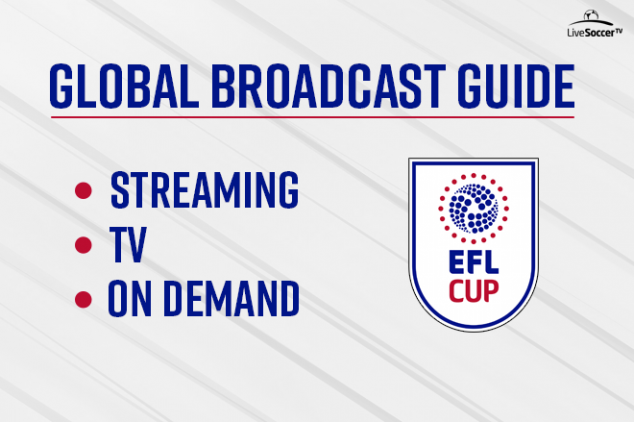EFL Cup 2018-2019 - Official broadcast guide