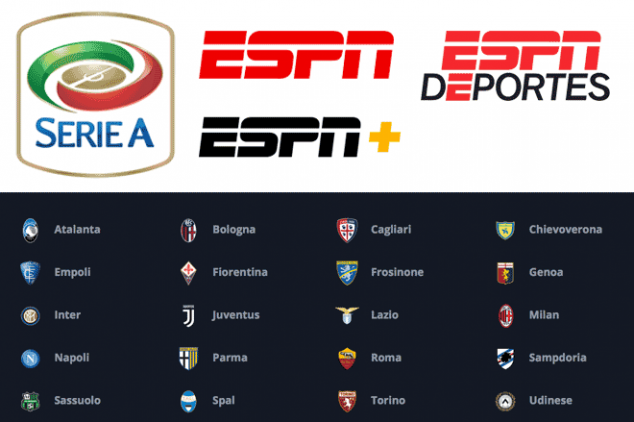ESPN seals deal to broadcast Serie A in the U.S.