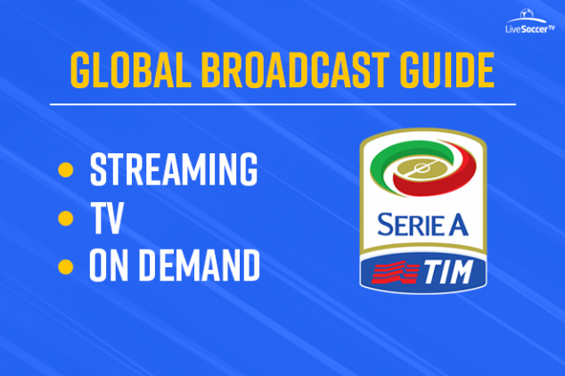 2018/2019 Serie A Global Broadcast Guide