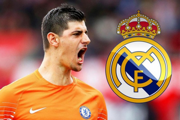 Courtois joins Real Madrid for the next six years