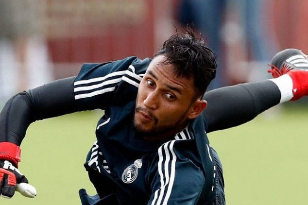 Navas is ready to fight for R. Madrid's No. 1 spot