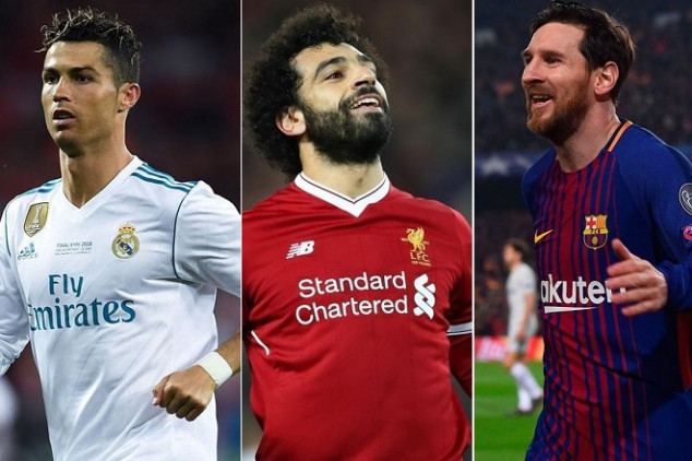 List of nominees for UCL's best revealed