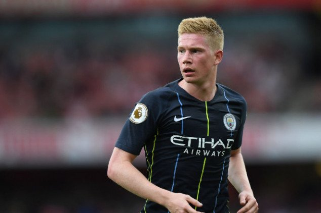 Man City receives De Bruyne boost