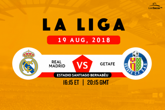 How to watch Real Madrid vs Getafe live