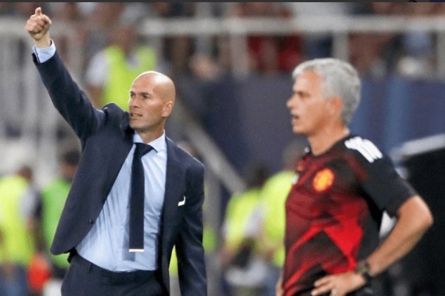 Zidane will not replace Mourinho...for now
