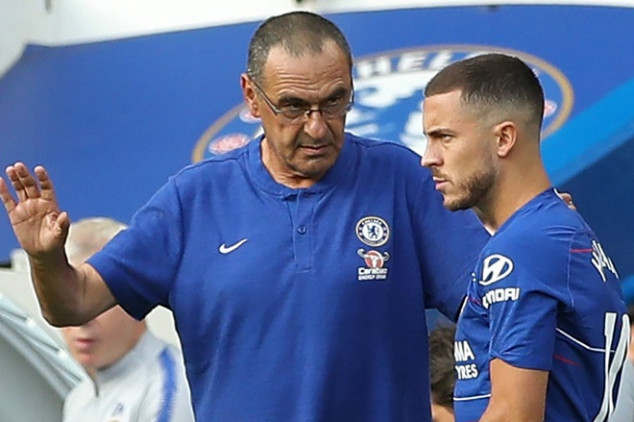 Sarri's regime works like a charm at Chelsea