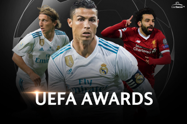 Where to watch the UEFA Awards