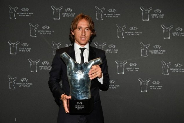 Modric's POTY win was too close against CR7
