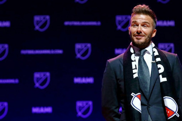 Beckham unveils name of his MLS franchise