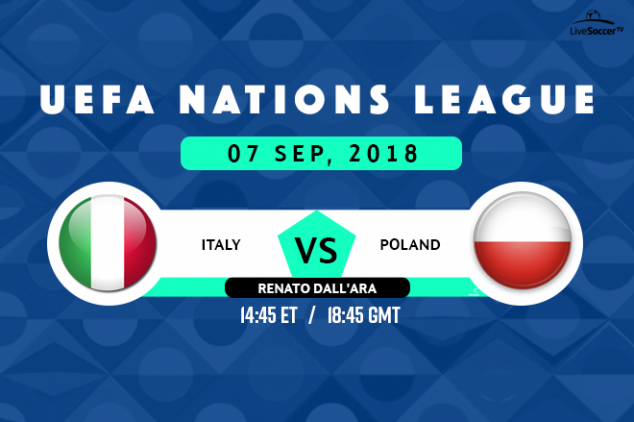 Italy vs Poland viewing info