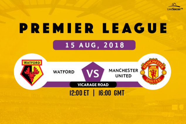 Where to watch Watford vs Man United