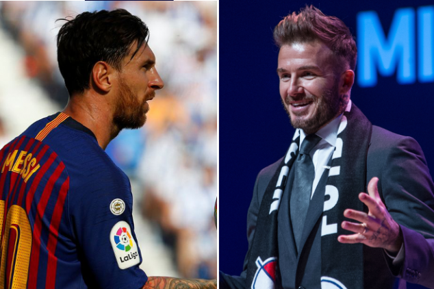 Beckham contemplating move for Messi