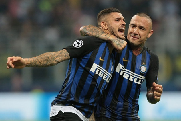 Icardi leads Inter's comeback with stunning volley