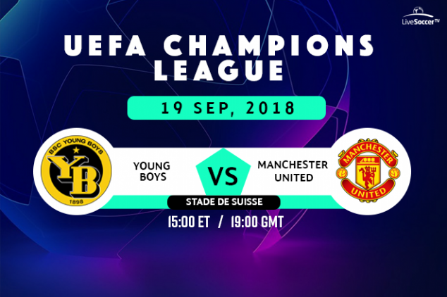 Where to watch Young Boys vs Man Utd