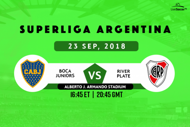 Where to watch the Argentinean Superclásico?