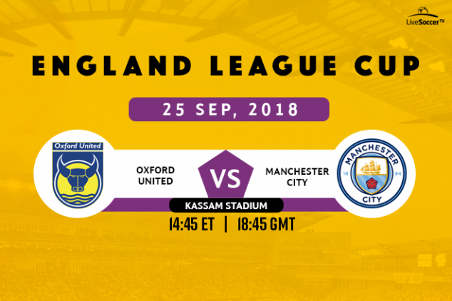 Where to watch Oxford United vs Man City