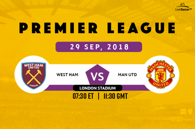 Where to watch West Ham vs Manchester United