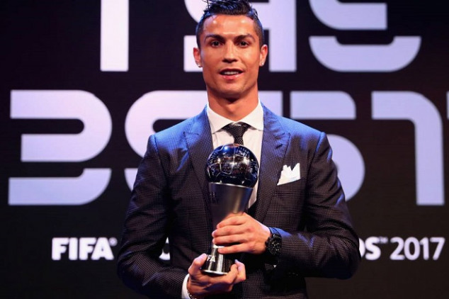 CR7 shares public thoughts on The Best snub