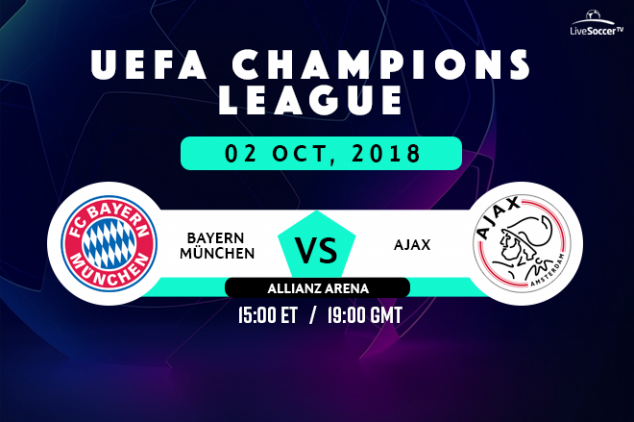 Bayern vs Ajax viewing info