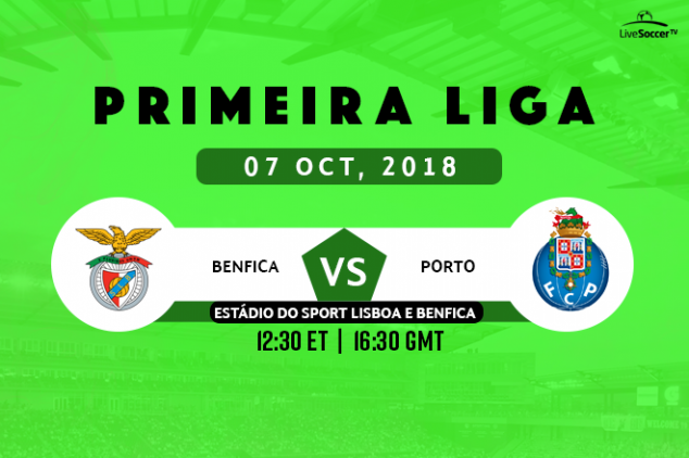 Where to watch Benfica vs FC Porto on October 7