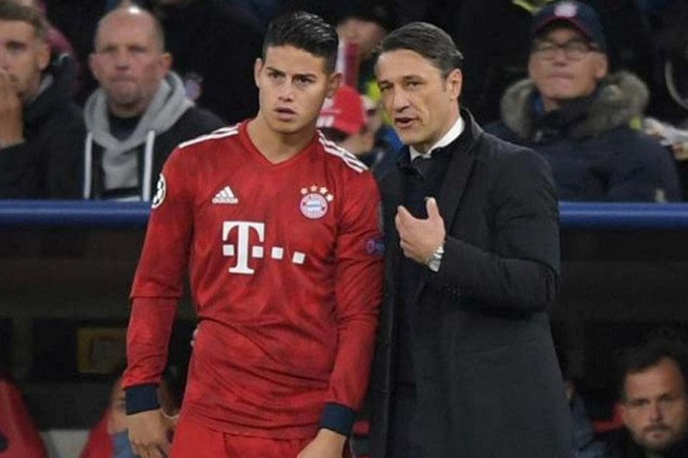 Bayern legend aims dig at James Rodriguez