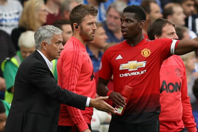 Paul Pogba aims dig at Mourinho over captaincy row