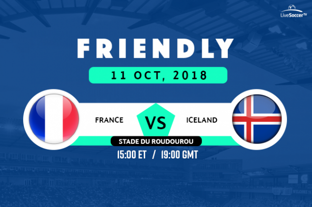 France vs Iceland viewing info