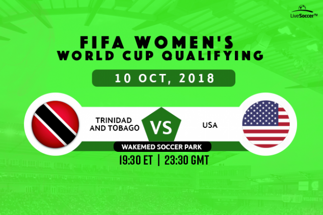 Where to watch Trinidad and Tobago vs USA live