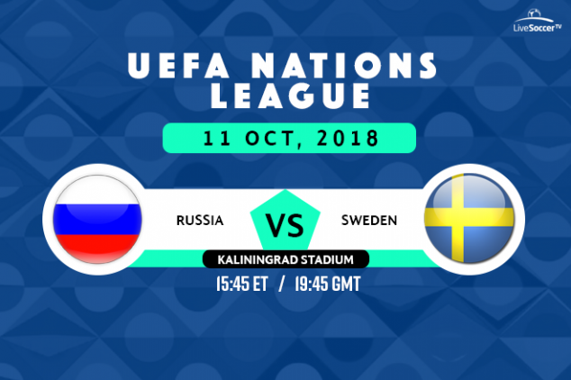 How to watch Russia vs Sweden live on October 11