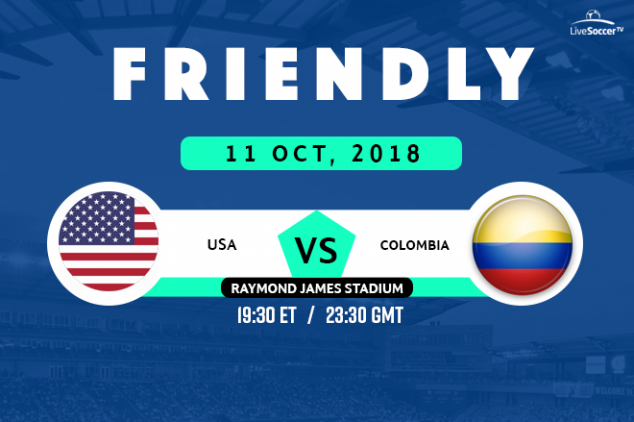 Where to watch USA vs Colombia