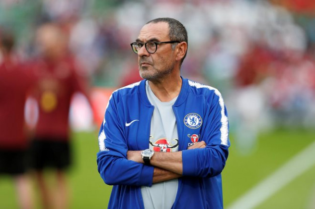 Sarri names the two teams that can win the UCL
