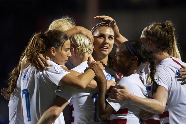 USWNT books ticket to 2019 Women's World Cup