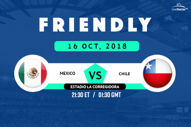 Mexico vs Chile broadcast info