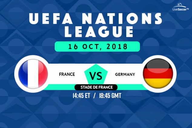 France vs Germany viewing info