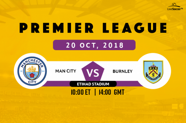 Where to watch Man City vs Burnley