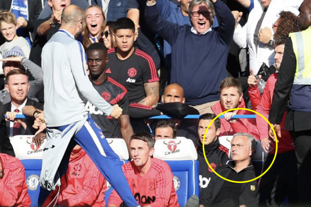 Mourinho clashes with Chelsea assistant
