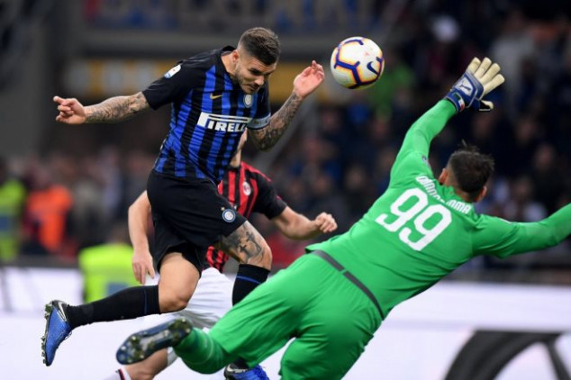 Icardi seals late dramatic win in Milan derby