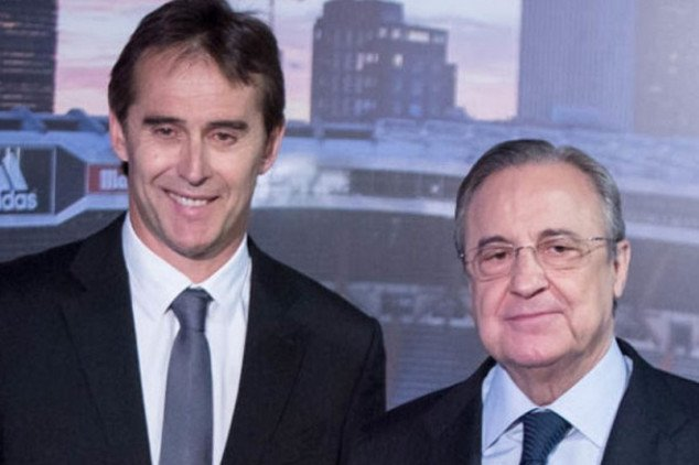 Florentino nearly sacked Lopetegui last Tuesday