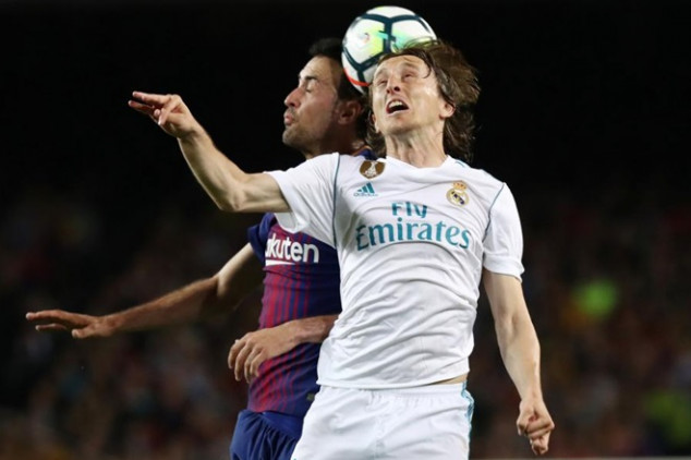 Busquets vs Modric ahead of El Clasico
