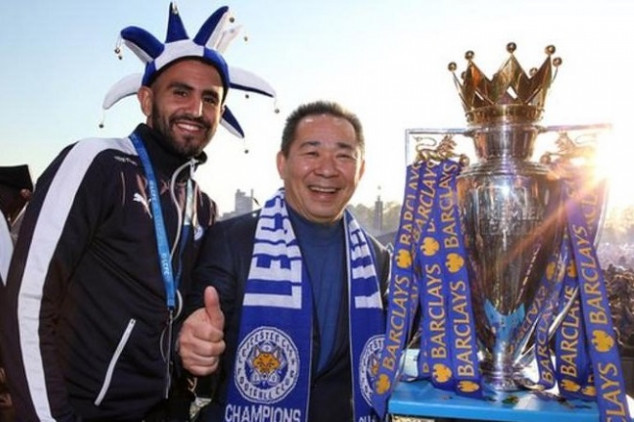 Mahrez pays tribute to Leicester's late owner